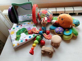 pack de juguetes bebés a partir de 6 meses