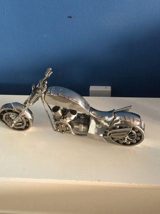 Moto de metal