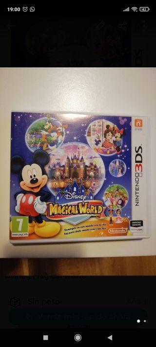 juego Nintendo 3DS Disney Magicalworld