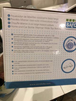 Calienta Biberones marca SARO