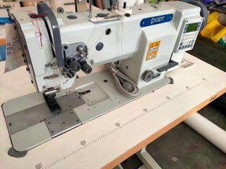 maquina de coser industrial doble aguja triple arr