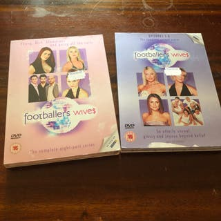 Footballers' Wives Season 1 & 2 Dvds