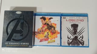 6 bluray Marvel Vengadores Ant Man Lobezno