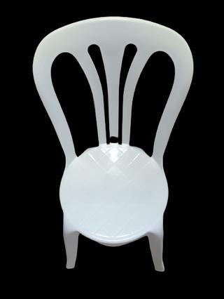 17 Sillas Plástico Resol Contract Blancas