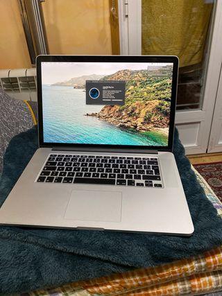 Macbook Pro 15 pulgadas Retina finales de 2013