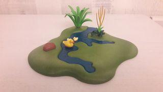 Lago con patos Playmobil Belén