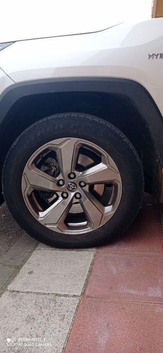 4 neumáticos Dunlop