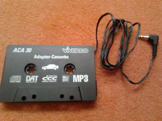 CASSETTE ADAPTADOR MP3, MP4, ETC...PARA AUTORADIOS