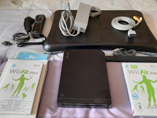 Consola Wii negra