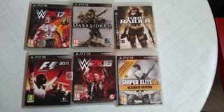 Surtido juegos PS3