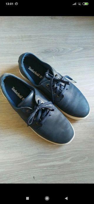zapatillas Timberland azules