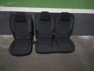 asientos fila trasera peugeot RIFTER