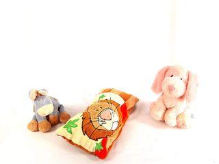 Muñecos de peluche para acompañar en los viajes