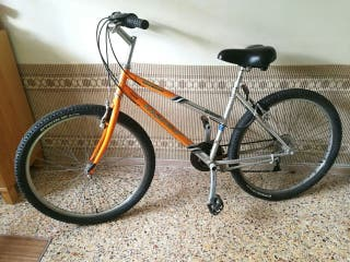 Bicicleta de paseo, ciudad y rutas cortas, talla S