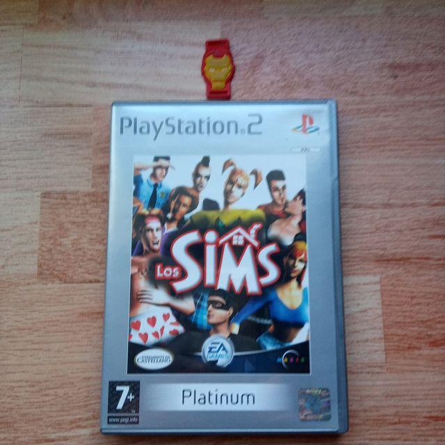LOS SIMS PS2 PLATINUM IMPOLUTO