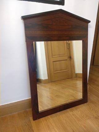 Espejo para tocador/recibidor madera