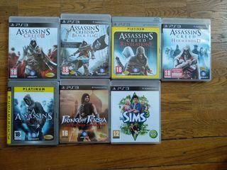 7 juegos PS3