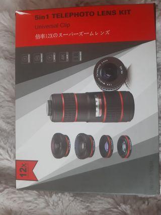 Kit lentes universal para cámara movil
