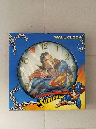 reloj de pared superman NUEVO