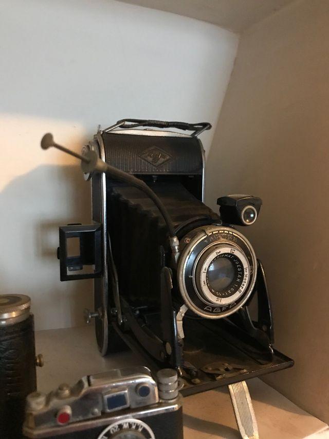 Cámara vintage desplegable Agfa