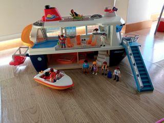 Crucero Playmobil + lancha