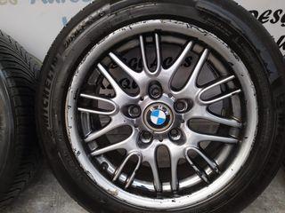 Juego llantas aluminio en 16 de BMW calzadas