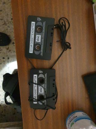 adaptador para cassette