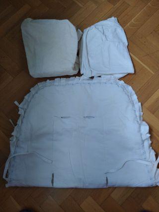 Funda impermeable colchón capazo y cuna