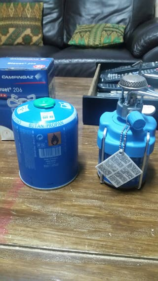 camping gas semi-nuevo