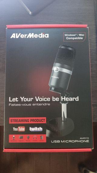 Microfono USB Avermedia AM310