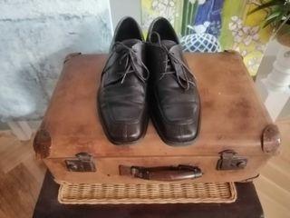 Zapatos Panama Jack marrón talla 44