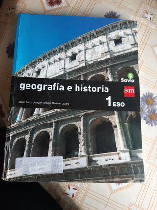 LIBRO GEOGRAFIA E HISTORIA 1 ESO