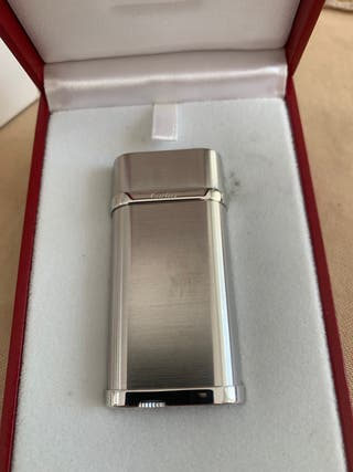 Mechero Cartier platino