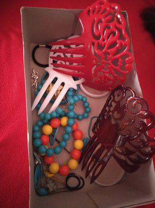 Abalorios y accesorios vestido de gitana