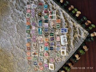sellos de Inglaterra Canadá Australia etc