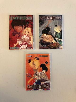 Manga Kami No Nawa (para adultos)