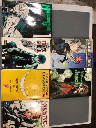Mangas Variados. Comics Japoneses