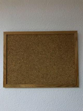 Corcho con marco de madera