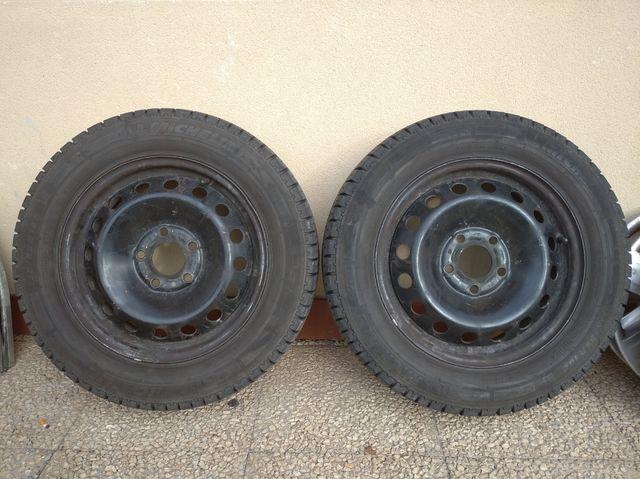 Llantas 16 + neumáticos Trafic, Vivaro, Primastar