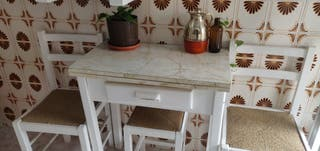 Mesas + sillas de cocina vintage