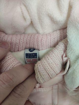 Buzo bebe niña zara