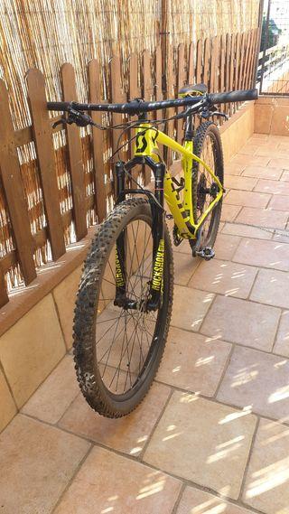 bicicleta montaña scott scale rc 900 team