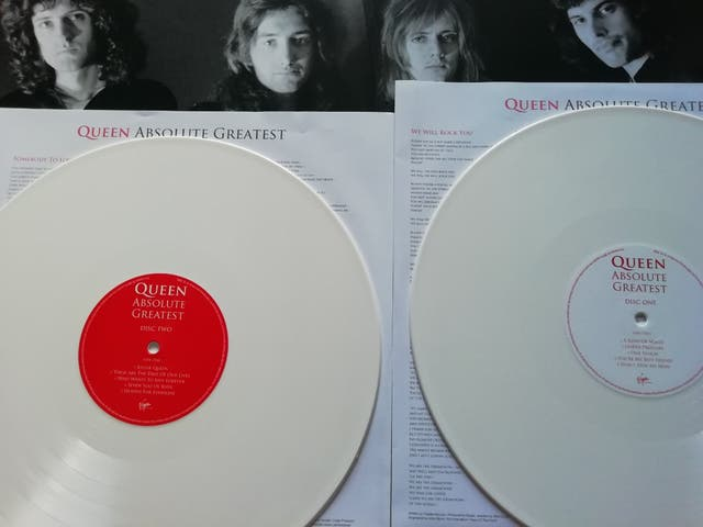 vinilo doble QUEEN absolute greatest