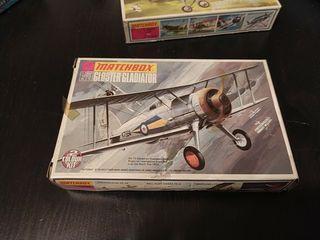 Maqueta vintage Gloster Gladiador de 1973