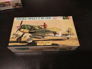 Maqueta vintage Focke-Wulf FW-190 revell