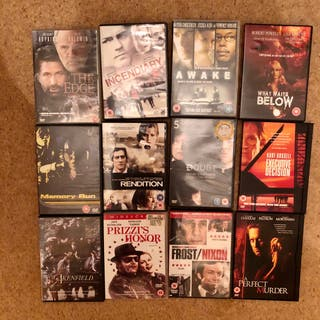 Set Of 23 Dvd Bundle Action Crime Thrillers