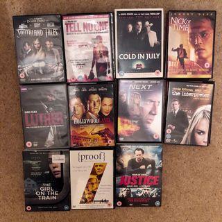 Set Of 23 Dvd Bundle Action Crime Thrillers