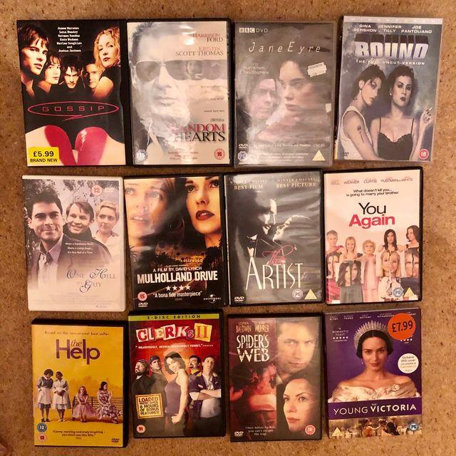 Set of 23 Dvd Bundles