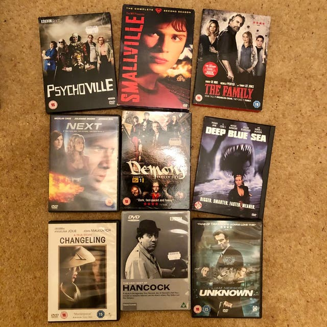 Dvd Bundle Movies Set Sci-fi Fantasy Mixed Genre