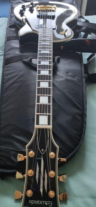 guitarra eléctrica ESP EDWARDS C-DP-130 BLACK